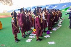 Primary graduation at Bingu National Stadium